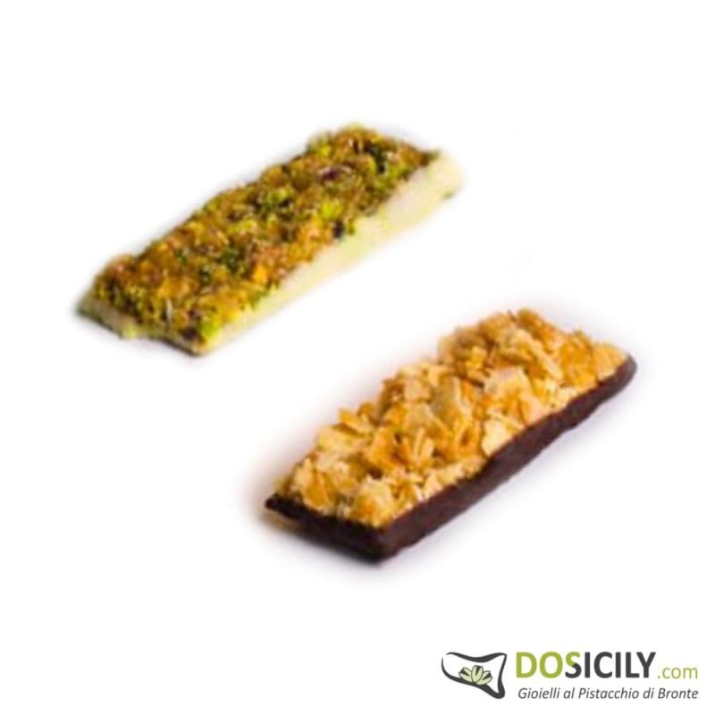 Croco Ciok,Croccantino pistacchio e croccantino mandorla