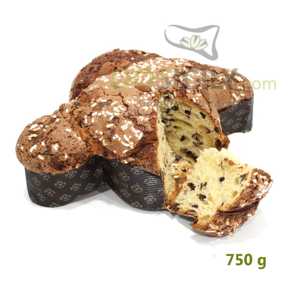 Colomba artigianale siciliana al cioccolato di Modica
