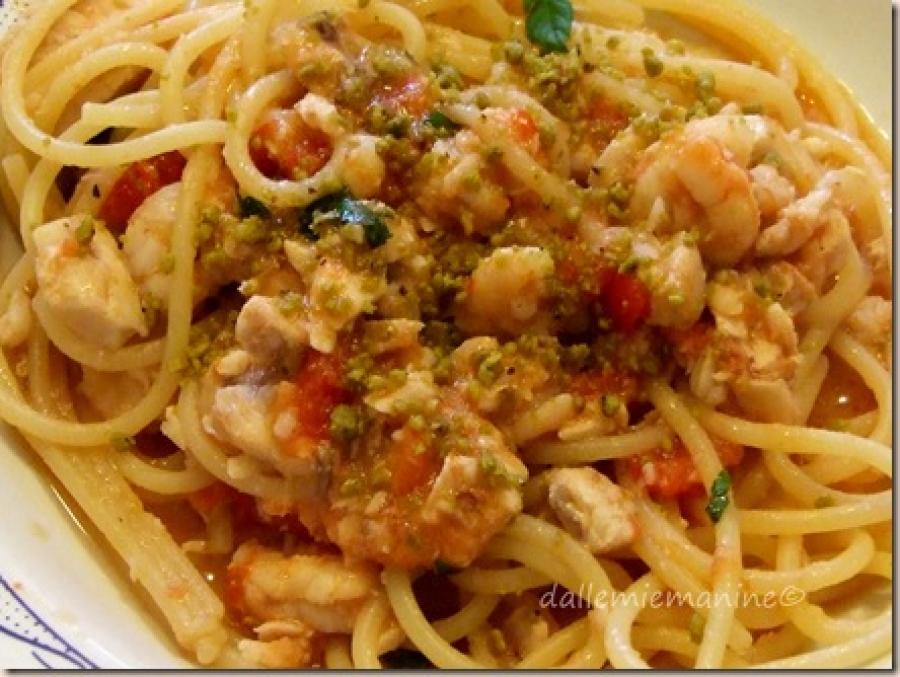 Ricette pasta pistacchio e gamberetti