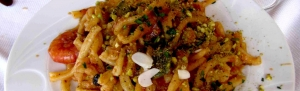 Mediterranean Pasta With Pistachios from Bronte