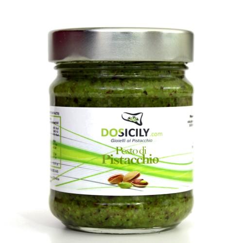 Offerta pesto al pistacchio da 190 gr dosicily