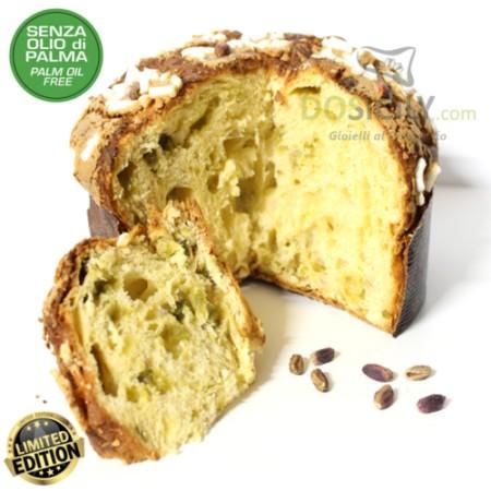 Panettone de pistacho de Sicilia