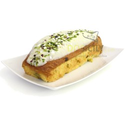 Plumcake with Pistachio filling