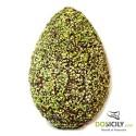 Uovo di Pasqua artigianale con granella di Pistacchio Sicilia