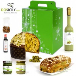 "Christmas""GOLD""package Handcrafted of pistachios"