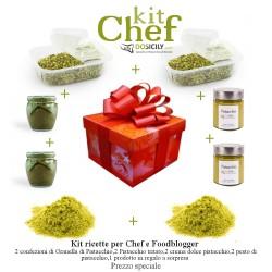 Kit chef al Pistacchio di Bronte per ricette e cuochi